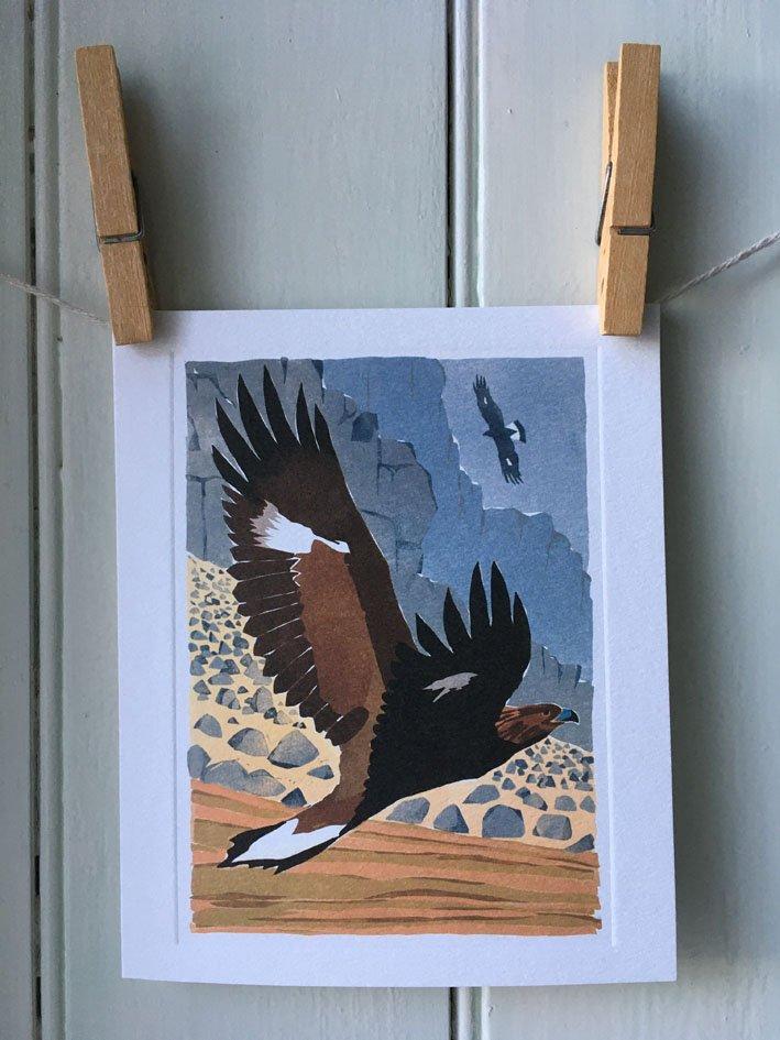 Golden Eagles card