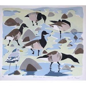 Brent geese print thumb